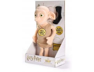 Harry Potter Peluche Interattivo Dobby con Calzino 32 cm Noble Collection