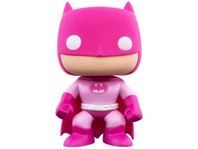 DC Comics Funko POP Vinile Figura Consapevolezza del Tumore al Seno Batman 9 cm