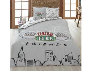 Friends Central Perk Cotone Copripiumino Letto 135cm Warner Bros.