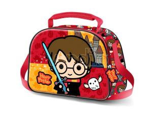 Harry Potter Chibi 3d Borsa Per Il Pranzo Karactermania