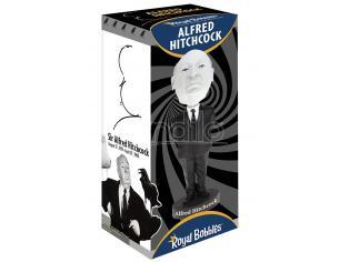 ALFRED HITCHCOCK B&W BOBBLEHEAD HEADKNOCKER ROYAL BOBBLES