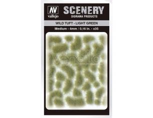 TUFT WILD SC407 LIGHT GREEN MEDIUM ACCESSORI PER MODELLISMO VALLEJO VALLEJO