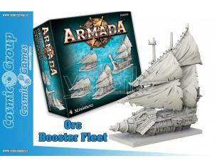 ARMADA ORC BOOSTER FLEET GIOCO DA TAVOLO MANTIC