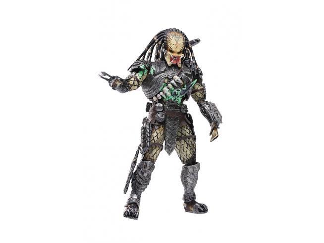 Avp Damage Scar Predator Px 1/18 Af Action Figura Hiya Toys