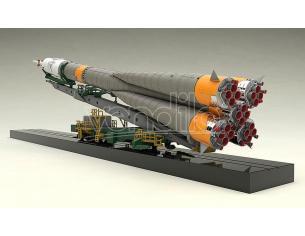 SOYUZ ROCKET & TRANSPORT TRAIN 1/150 MK MODEL KIT GOODSMILE