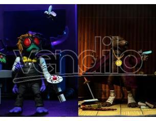 Tartarughe Ninja Figura Splinter & Baxter 2pk Action 17 cm Neca
