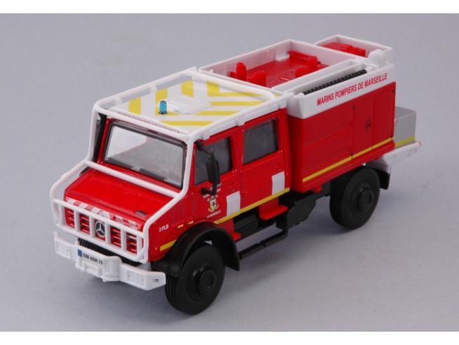 Bburago BU32017 UNIMOG U5000 EMERGENCY 1:50 Modellino