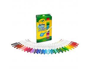 Crayola set 50 Super Tips washable markers Crayola