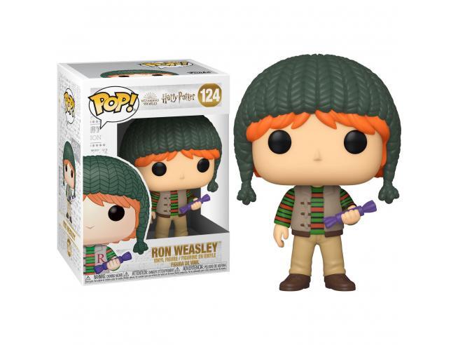 Harry Potter Funko Pop Film Vinile Figura Ron Weasley Vacanze di Natale 9cm