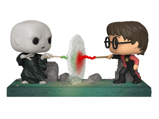 Harry Potter Funko POP Film Vinile Figura Harry vs Voldemort 9 cm