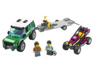LEGO CITY 60288 - TRASPORTATORE DI BUGGY DA CORSA