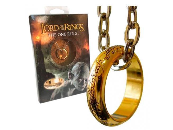 Il Signore Degli Anelli The One Ring Pendant Noble Collection