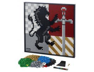 LEGO ART 31201 - HARRY POTTER STEMMI DI HOGWARTS