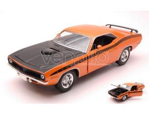 New Ray NY71883PO PLYMOUTH BARRACUDA 1970 ORANGE 1:24 Modellino