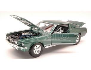 Maisto MI31166GR FORD MUSTANG GTA FASTBACK 1967 METALLIC GREEN 1:18 Modellino