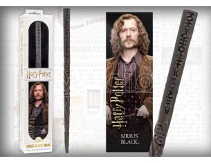 Harry Potter Bacchetta Magica Sirius Black + Segnalibro 3D Noble Collection