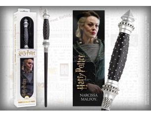 Harry Potter Bacchetta Magica Narcissa Malfoy + Segnalibro 3D Noble Collection