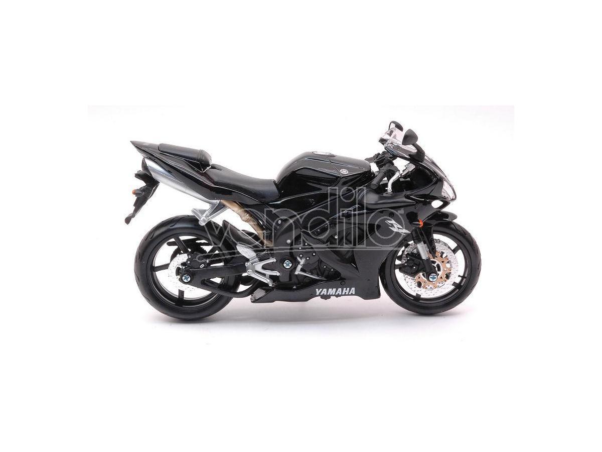 MAISTO MI04071Z YAMAHA YZF-R1 BLACK 1:12 Modellino