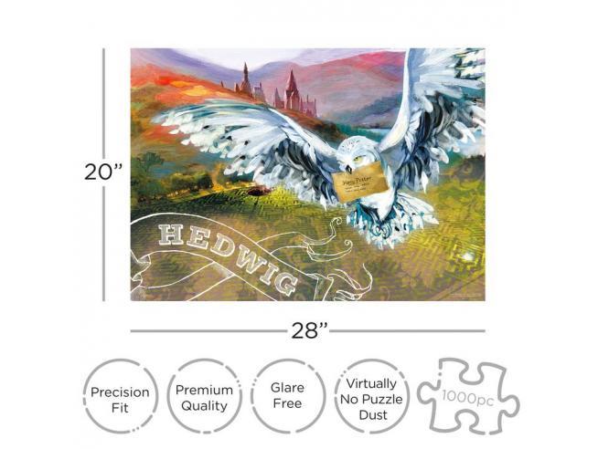 Harry Potter Hedwig 1000  Pezzi Puzzle Puzzle Aquarius Ent