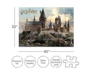 Harry Potter Hogwarts 3000  Pezzi Puzzle Puzzle Aquarius Ent