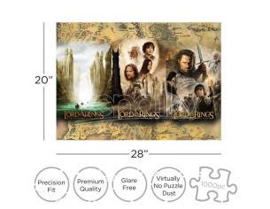 Lotr Triptych 1000  Pezzi Puzzle Puzzle Aquarius Ent