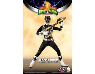 Mighty Morp Power Rangers Black Ranger Action Figura Threezero