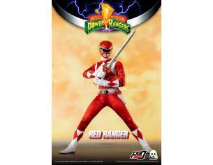 Mighty Morp Power Rangers Red Ranger Action Figura Threezero