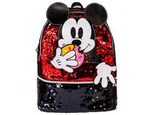 Disney Mickey Donut Paillettes Zaino 32cm Karactermania