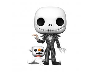 Disney Nightmare Before Christmas Funko POP Vinile Figura Jack Con Zero 25 cm