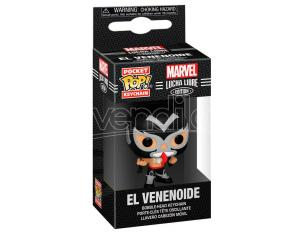 Pocket Pop Portachiavi Marvel Luchadores Venom El Venenoide Funko