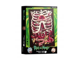 Rick&morty Anatomy Park 1000  Pezzi Puzzle Puzzle Sd Toys