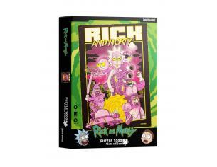 Rick&morty Retro Poster 1000  Pezzi Puzzle Puzzle Sd Toys