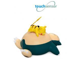 Pokemon Lampada Led Sensore Touch Snorlax E Pikachu 25 cm Teknofun