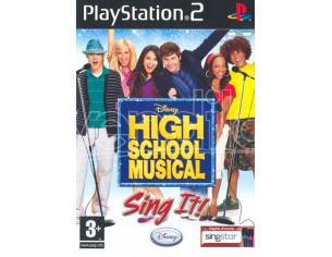 HIGH SCHOOL MUSICAL: SING IT! SOCIAL GAMES - OLD GEN