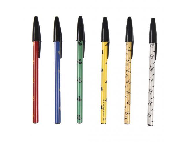Harry Potter Set di Penne a Sfera Pacco da 6 Penne Colorate Cerdà