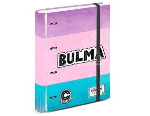 Dragon Ball Bulma A4 Album Per Carte Con Fogli Karactermania