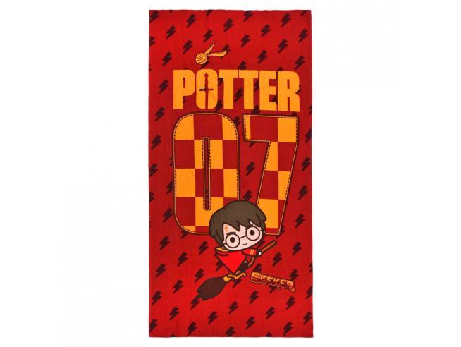Harry Potter Telo Mare Asciugamano Quidditch Microfibra Cerdà