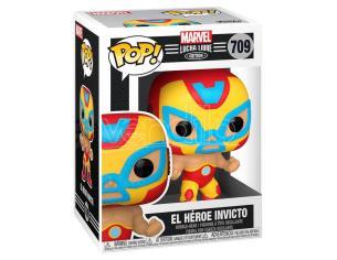 Pop Figura Marvel Luchadores Iron Man El Heroe Invicto Funko