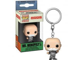 Pocket Pop Portachiavi Monopoly Criminal Uncle Pennybags Funko