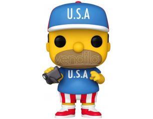 The Simpsons Funko POP Animazione Vinile Figura Homer U.S.A. 9 cm