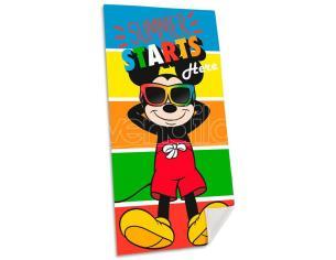 Disney Mickey Cotone Telo Mare Asciugamano  Bambino Licensing