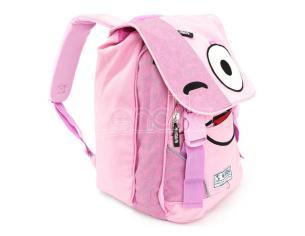 Spirit Emoticons Pink Zaino Con Flap Spirit