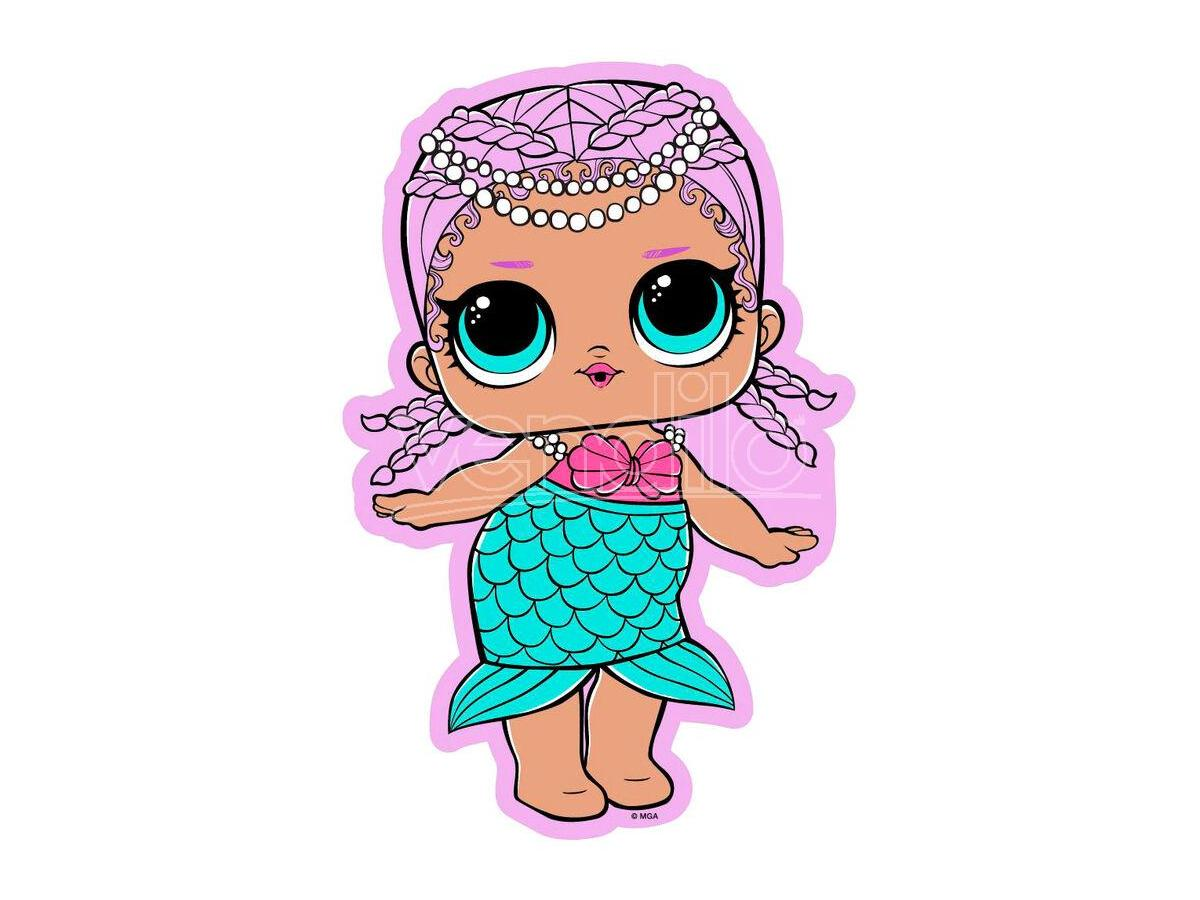 Lol Surprise Mermaid Microfibra Telo Mare Asciugamano Lol Surprise