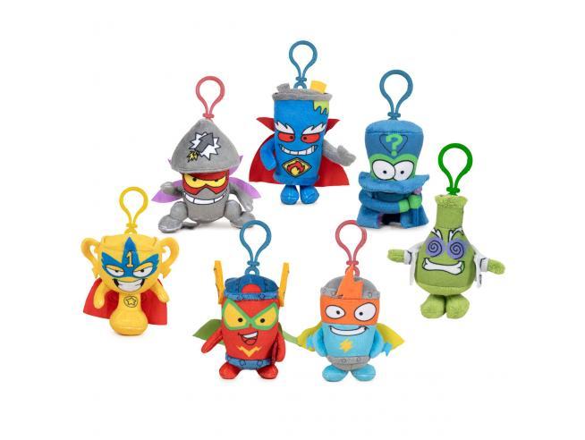 Super Zings Assortiti Peluche Portachiavi 10cm Magic Box Toys