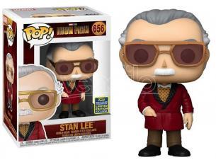 Iron Man Cameo Funko POP Icona Vinile Figura Stan Lee 9 cm Esclusiva
