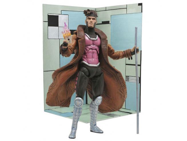 Marvel X-men Gambit Articolato Figura 18cm Diamond Select