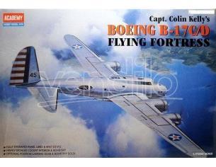 ACADEMY 2150 BOEING B-17C/D FLYING FORTRESS 1:72 Kit Modellino Scatola Rovinata