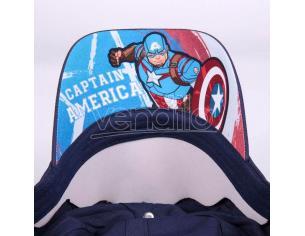 Marvel Captain America Cappellino Con Visiera Cerdà