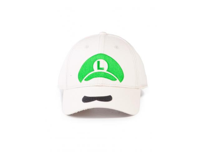 Nintendo Super Mario Luigi Icon Cappellino Regolabile Difuzed