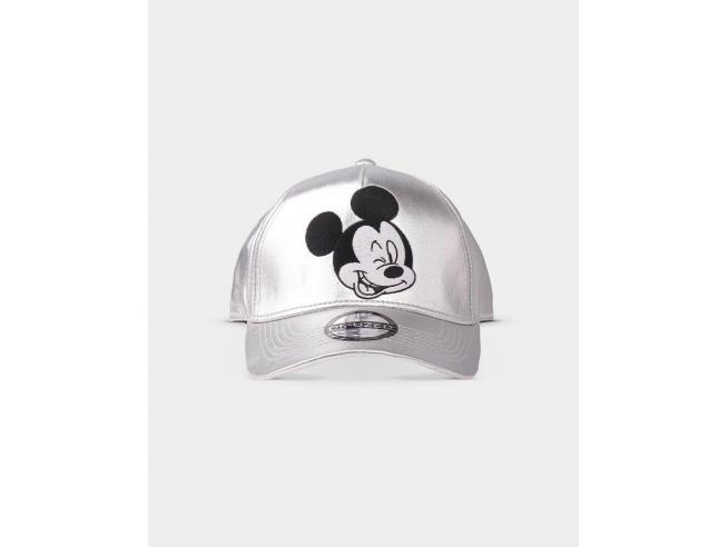 Disney - Mickey Mouse Silver Berretto Curvo Difuzed